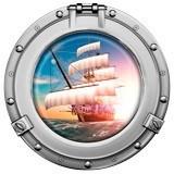 Wandtattoos: Piraten-Segelschiff 5