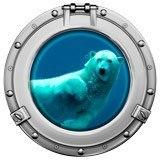 Wandtattoos: Eisbär Schwimmen 5