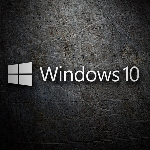 Aufkleber: Windows 10