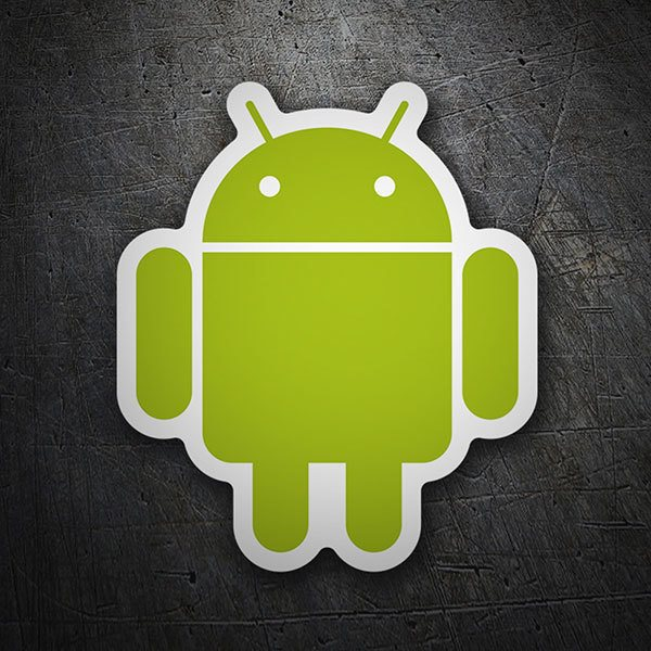 Aufkleber: Android Symbol