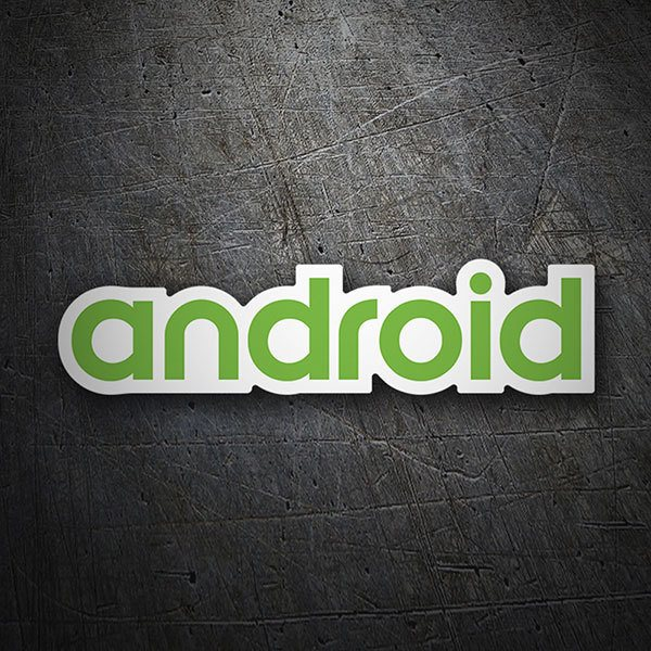 Aufkleber: Android Logo
