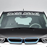 Aufkleber: Over Drive 0