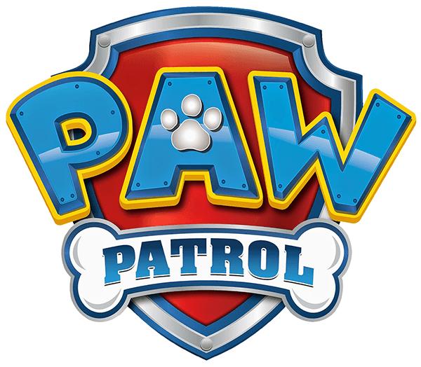 Sticker für Kinder Paw Patrol - Logo