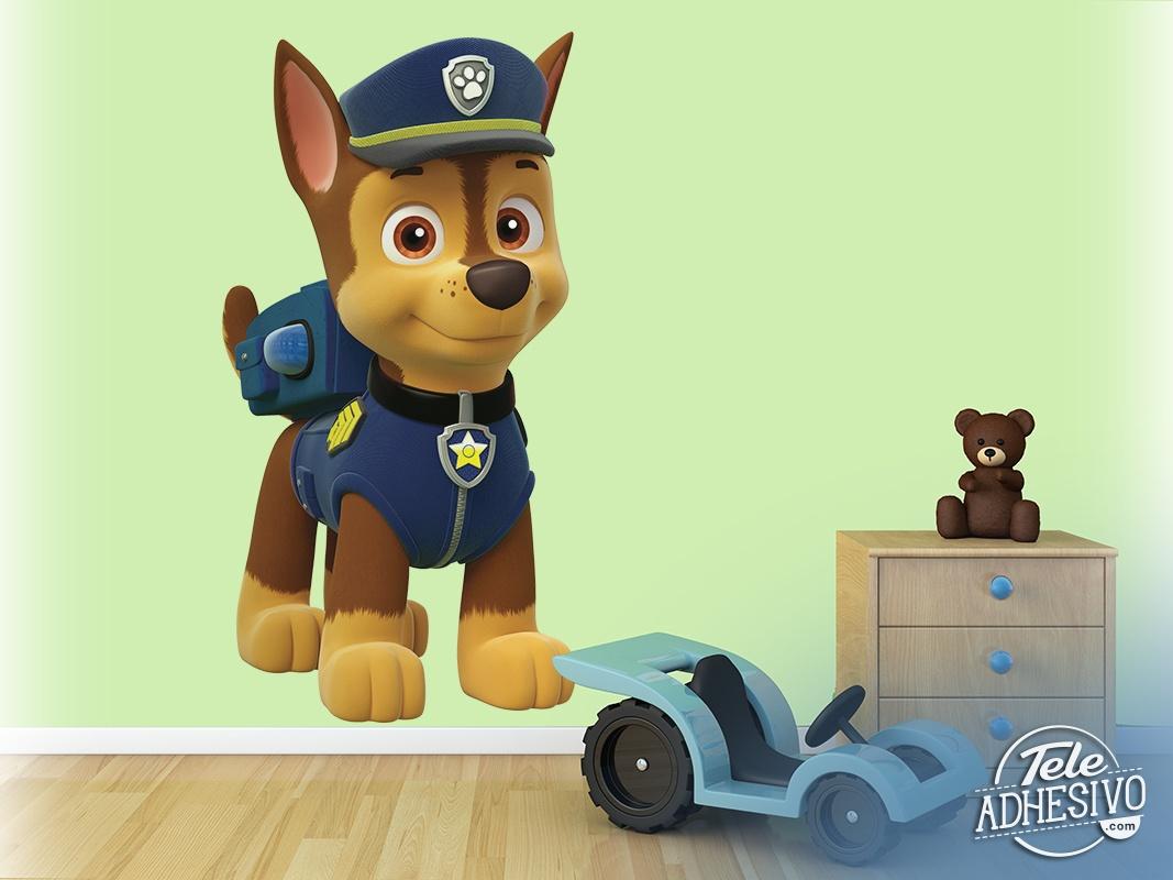vinyl f r kinder paw patrol chase. Black Bedroom Furniture Sets. Home Design Ideas