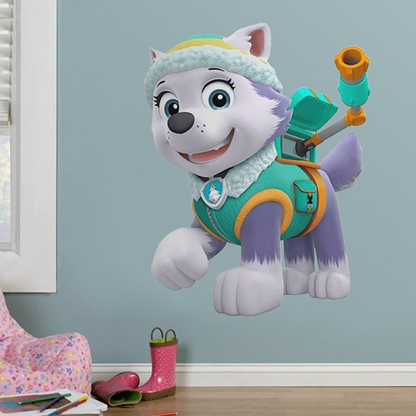 Kinderzimmer Wandtattoo: Paw Patrol - Everest