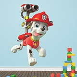 Kinderzimmer Wandtattoo: Paw Patrol - Marshall in Aktion 3