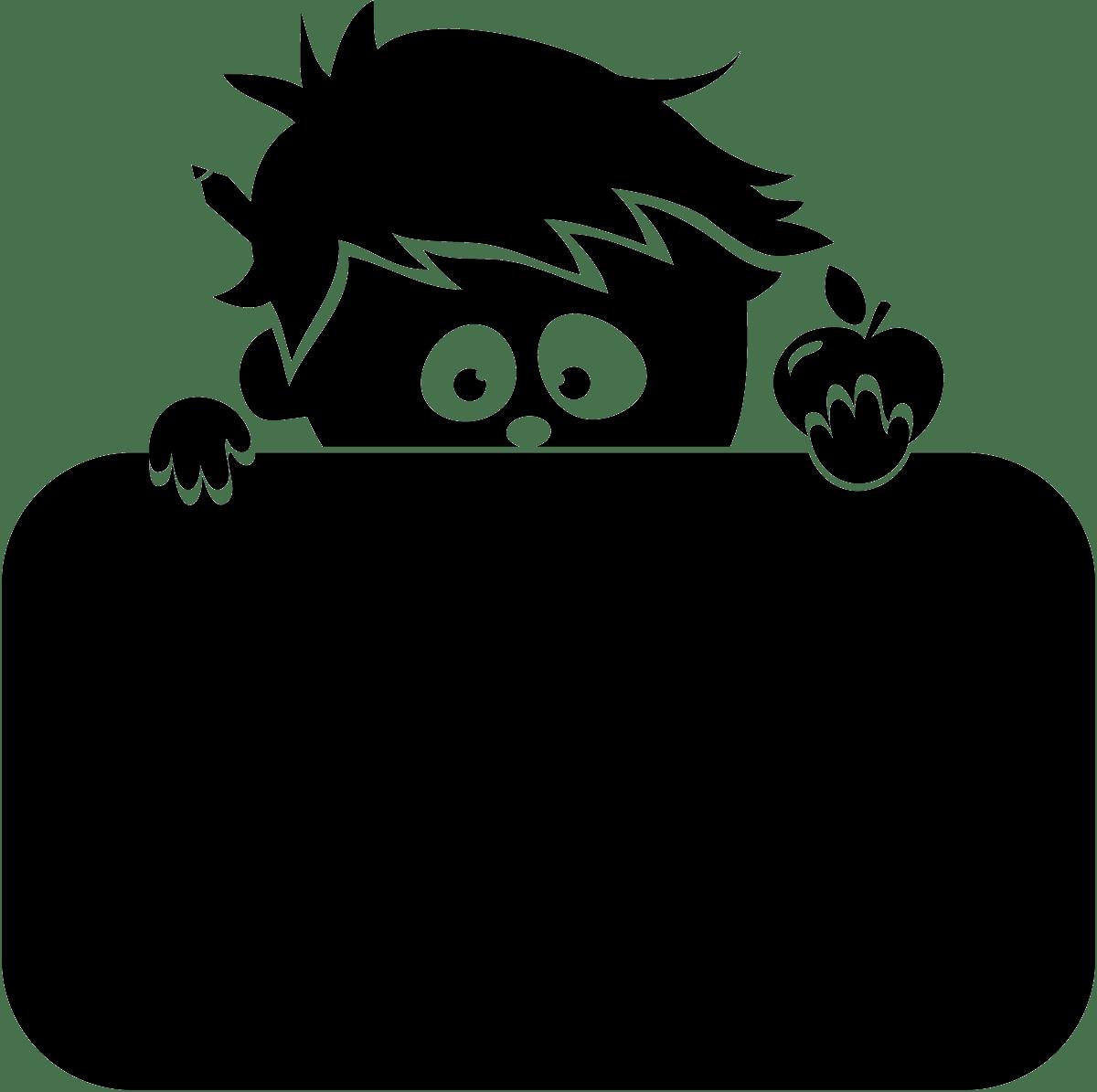Kinderzimmer Wandtattoo: Blackboard