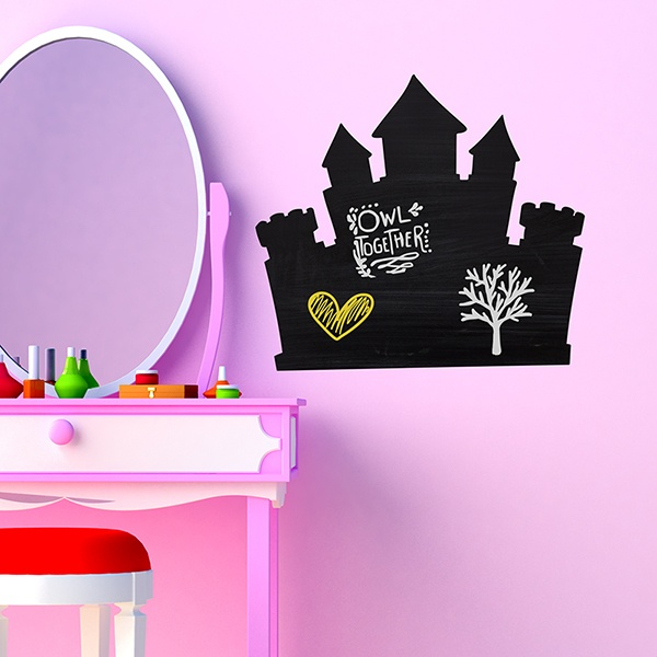Kinderzimmer Wandtattoo: Princess Castle