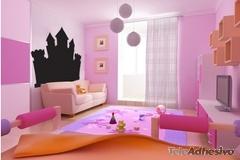 Kinderzimmer Wandtattoo: Princess Castle 1