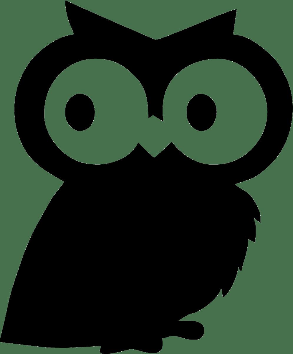 Kinderzimmer Wandtattoo: Slate OWL 2