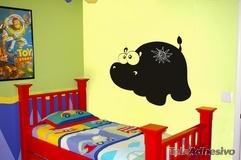 Kinderzimmer Wandtattoo: Hippo 1