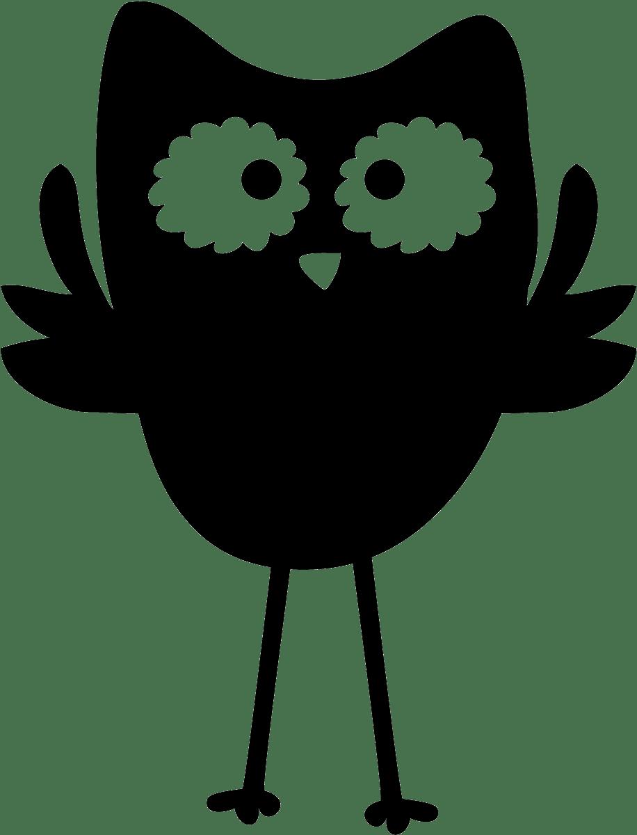 Kinderzimmer Wandtattoo: Slate Eule
