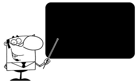 Kinderzimmer Wandtattoo: Slate Lehrer 2