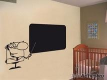 Kinderzimmer Wandtattoo: Slate Lehrer 2 1