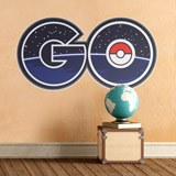 Wandtattoos: Pokémon Go logo 2 3