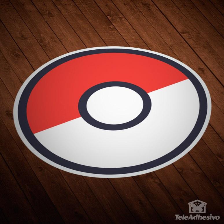 Wandtattoos: Pokeball - Pokémon Go