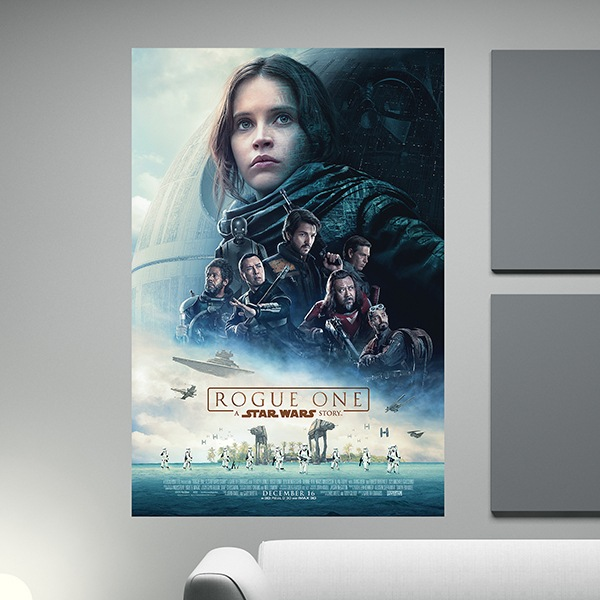 Wandtattoos: Klebstoff Poster Star Wars Rogue One
