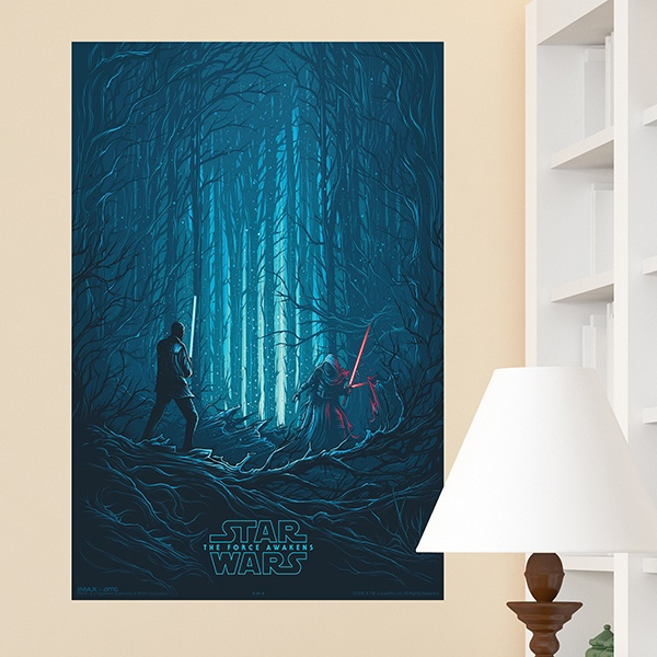 Wandtattoos: Klebstoff Poster Star Wars Episode VII