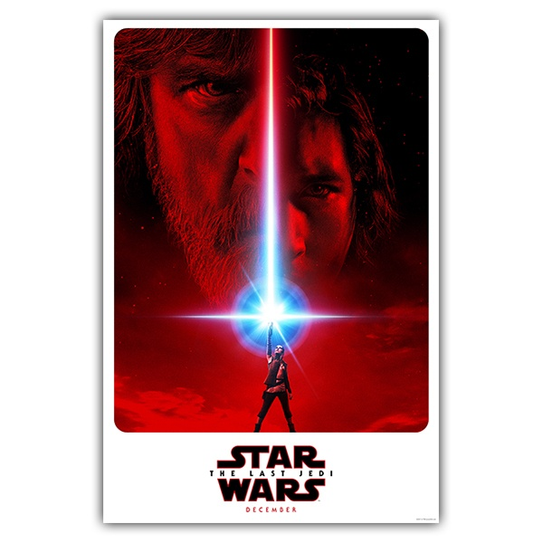 Wandtattoos: Klebstoff Poster Star Wars Episode VIII