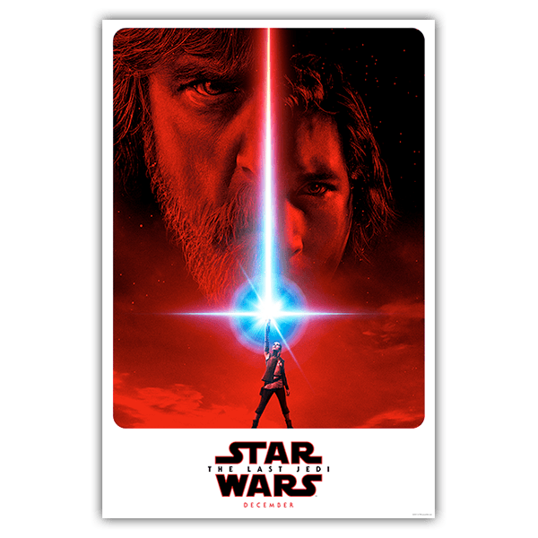 Wandtattoos: Klebstoff Poster Star Wars Episode VIII 0