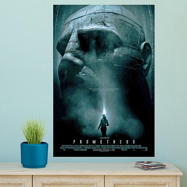 wandtattoos klebstoff poster alien prometheus. Black Bedroom Furniture Sets. Home Design Ideas