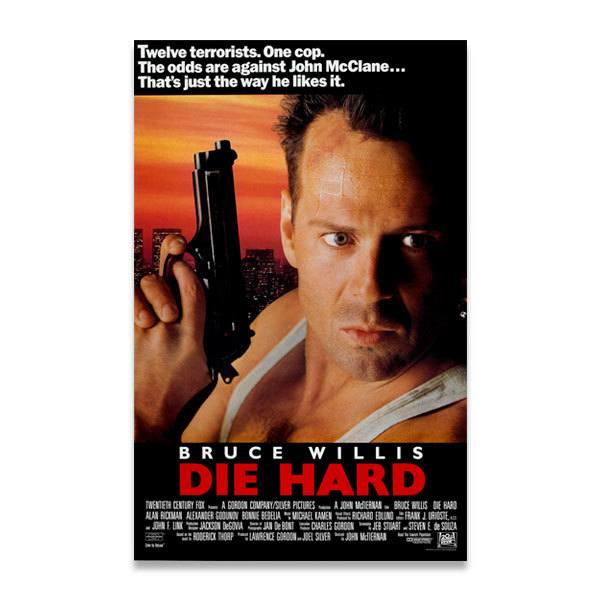 Wandtattoos: Bruce Willis Die Hard
