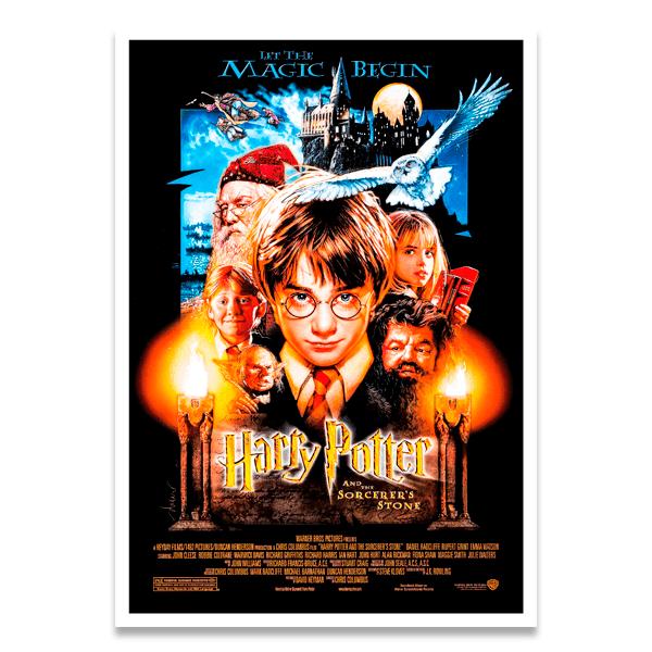 Poster Selbstklebend Harry Potter Und Der Stein Der Weisen Webwandtattoo Com