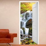 Wandtattoos: Offene Tür Wasserfall 1