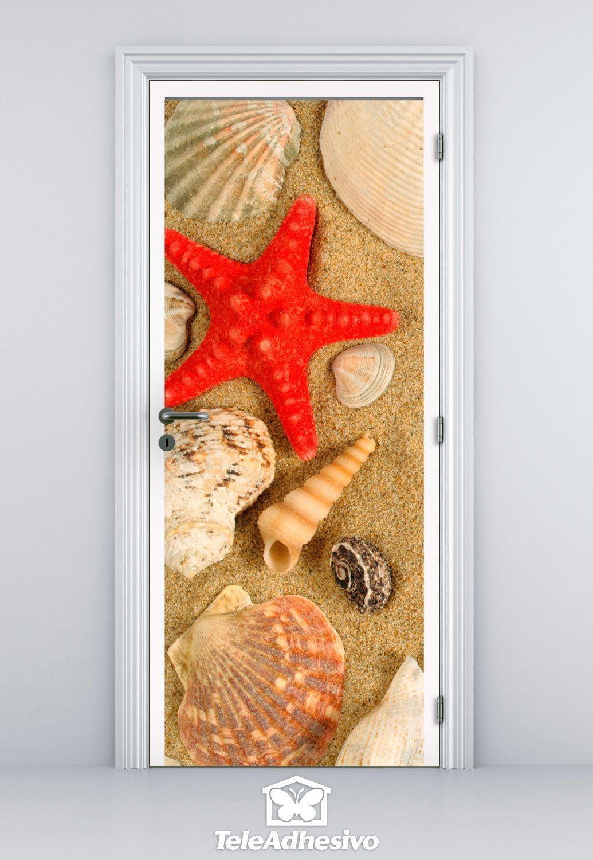 Wandtattoos: Tür Meeresmotive