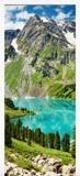 Wandtattoos: Tür Berg und ein See 6