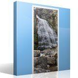 Wandtattoos: Tür Wasserfall und Steine 7