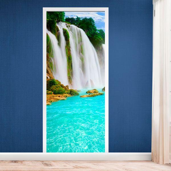 T r wasserfall - Wasserfall wand ...