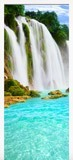 Wandtattoos: Tür Wasserfall  4