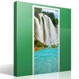 Wandtattoos: Tür Wasserfall  7