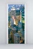 Wandtattoos: Tür New York Wolkenkratzer 3