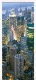 Wandtattoos: Tür New York Wolkenkratzer 4