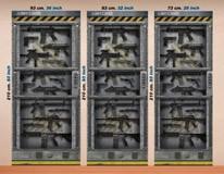 Wandtattoos: Sci Fi Tür Waffenkammer 4