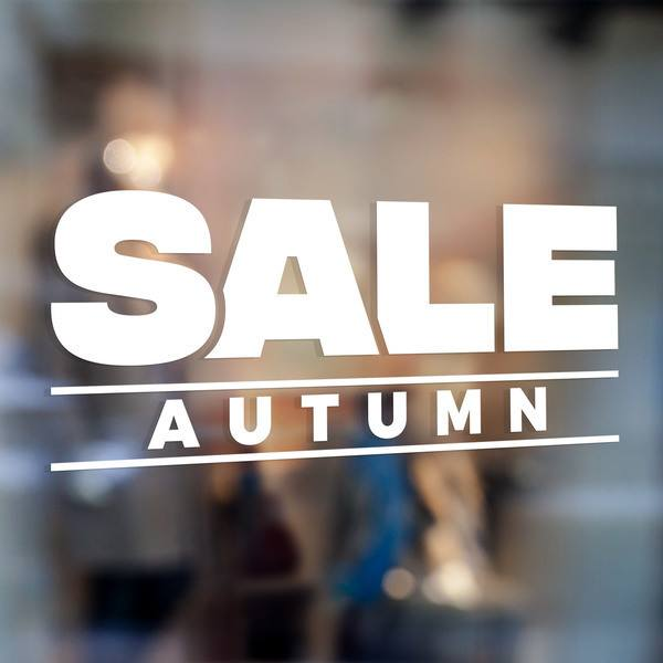 Wandtattoos: Sale Autumn