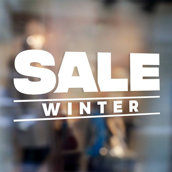 Wandtattoos: Sale Winter