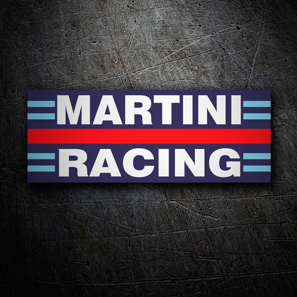 aufkleber martini racing. Black Bedroom Furniture Sets. Home Design Ideas