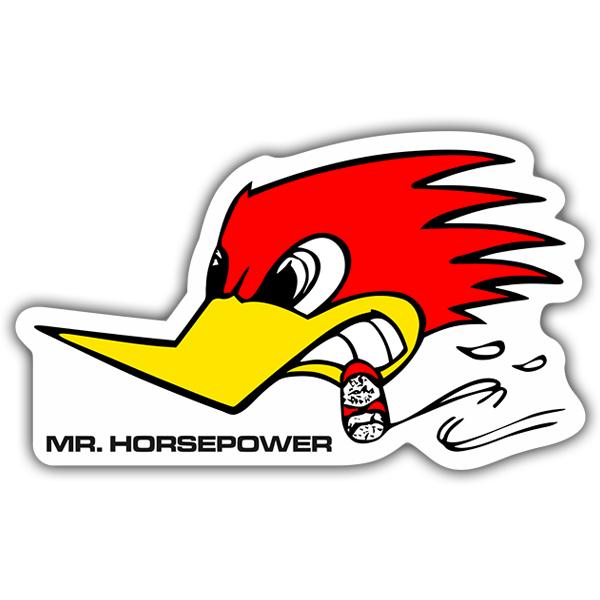 Aufkleber: Mr.Horsepower