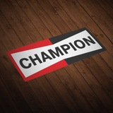 Aufkleber: Champion 0