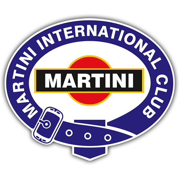 Aufkleber: Martini international club