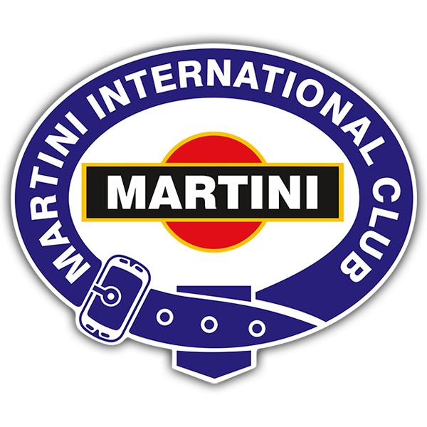 Aufkleber: Martini international club