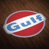 Aufkleber: Gulf 0