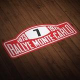 Aufkleber: Rallye Monte-Carlo 0