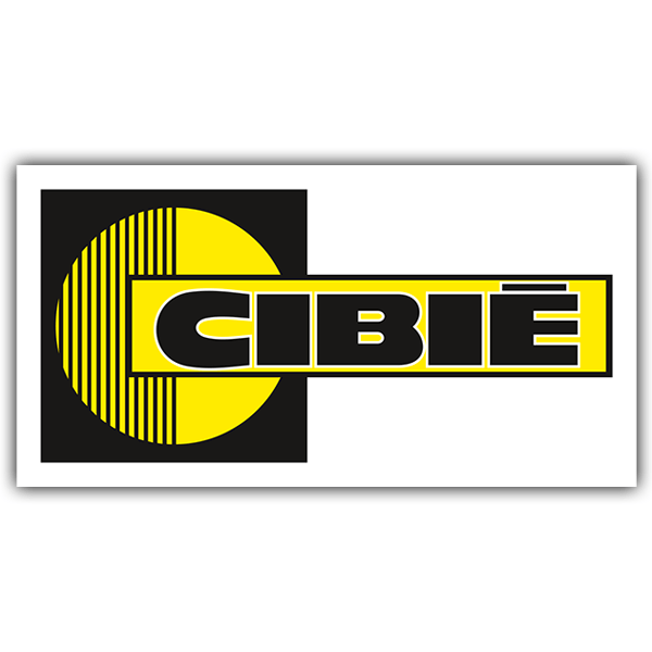 Aufkleber: Cibie 2