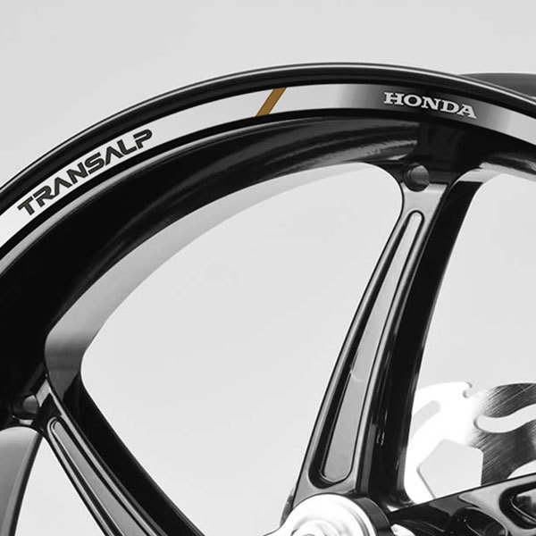 Kit Felgenrandaufkleber Honda Transalp Webwandtattoocom