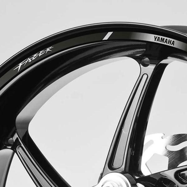 Kit Felgenrandaufkleber Yamaha Fazer Fz6 Webwandtattoocom