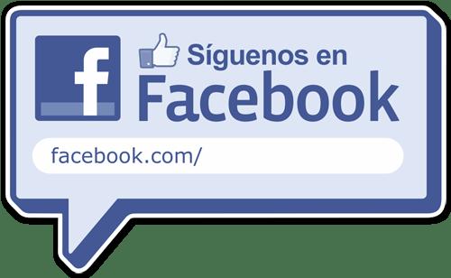 Wandtattoos: Síguenos en Facebook